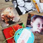 DIY Photo Magnets + Printable Gift Tags