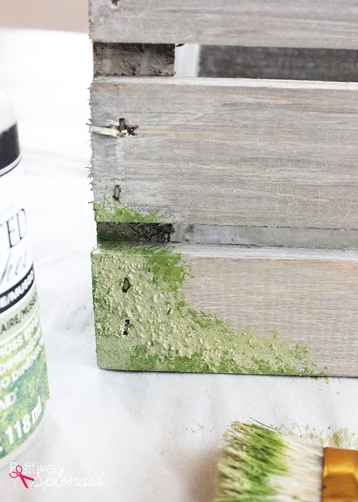 FolkArt Painted Finishes Moss #plaidcreators