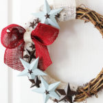 DIY Patriotic Wreath Tutorial by Positively Splendid
