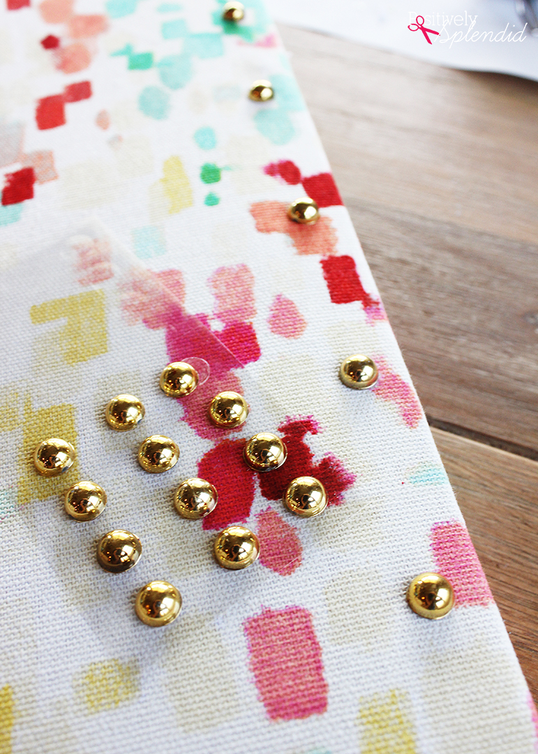 DIY Fabric-Covered Cork Board - Such a fun idea for kids' rooms, college dorms, classrooms and more!