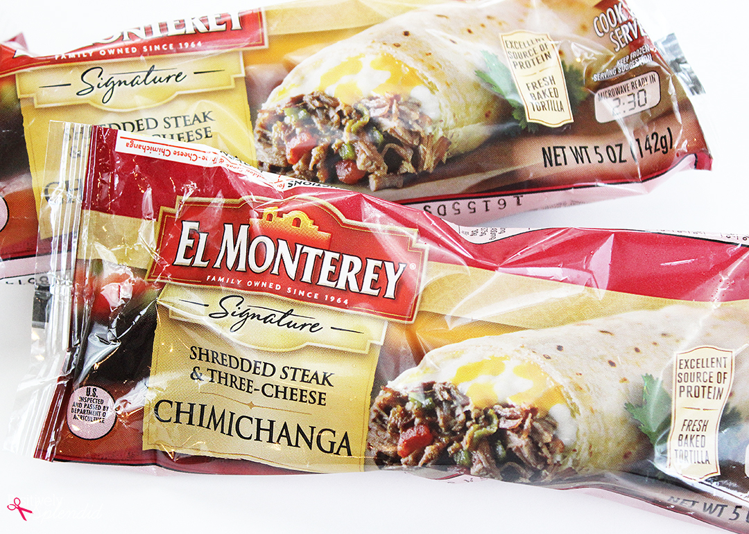 El Monterey Steak and Cheese Chimichanga