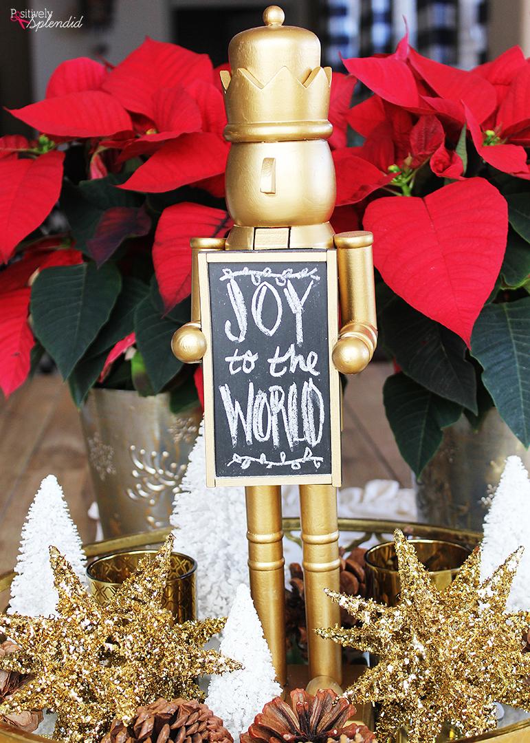 Nutcracker Christmas Centerpiece