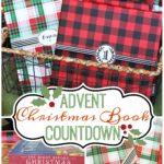 Advent Christmas Book Countdown + Free Printable Tags