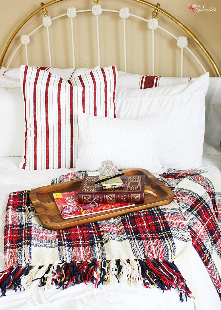5 great tips for how to create a cozy guest room retreat in your home. Smart and budget-friendly ideas! #BHGLiveBetter
