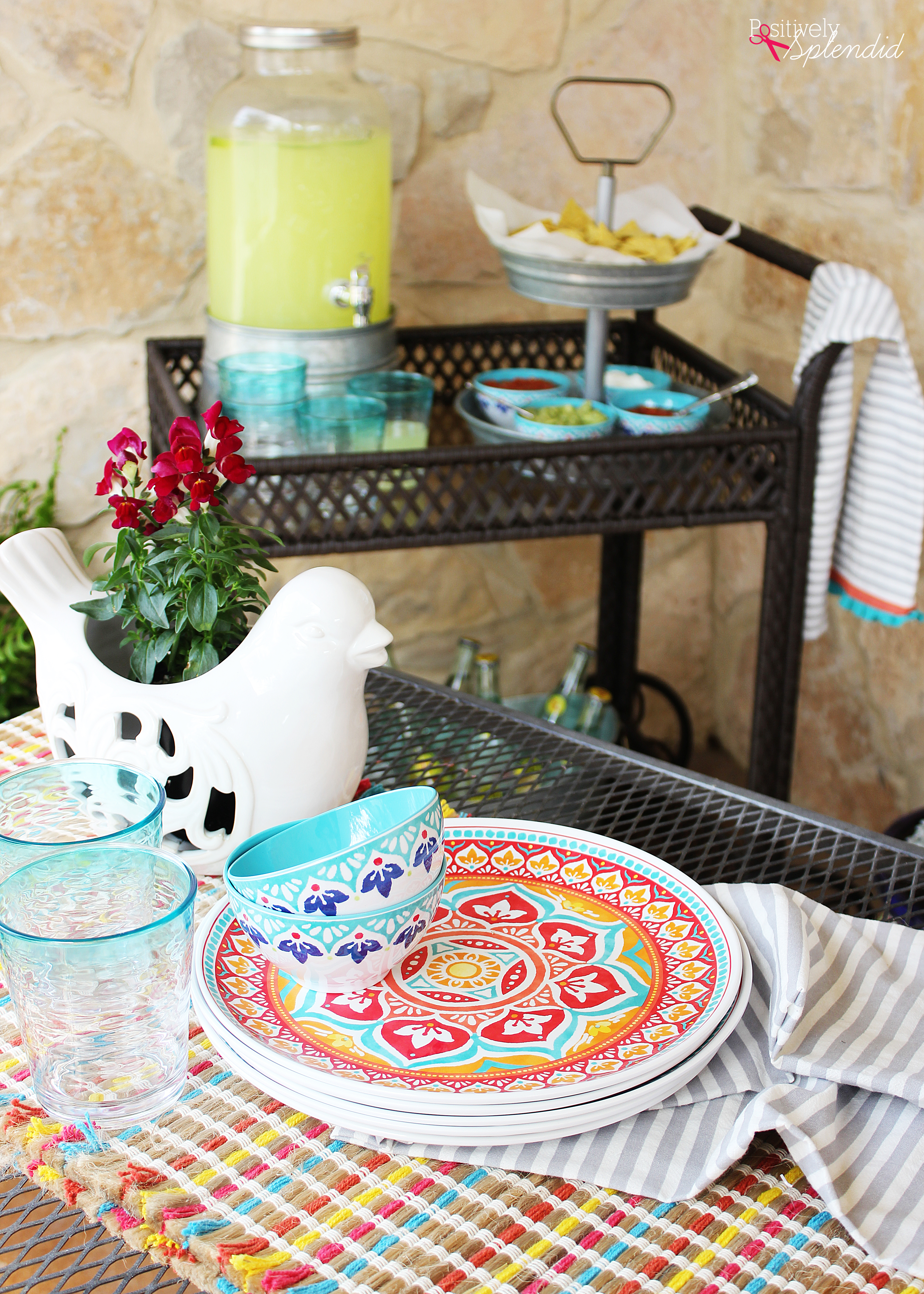 5 Smart Tips for Easy Outdoor Entertaining #BHGLiveBetter