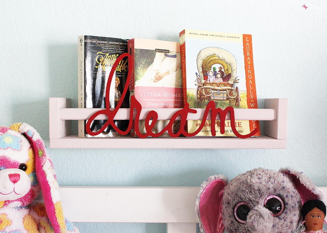 Ikea Bekvam Spice Rack Bookshelf made with FolkArt Home Decor Chalk Paint--Such a terrific Ikea storage hack idea! #plaidcreators