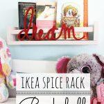 Ikea Bekvam Spice Rack Bookshelf