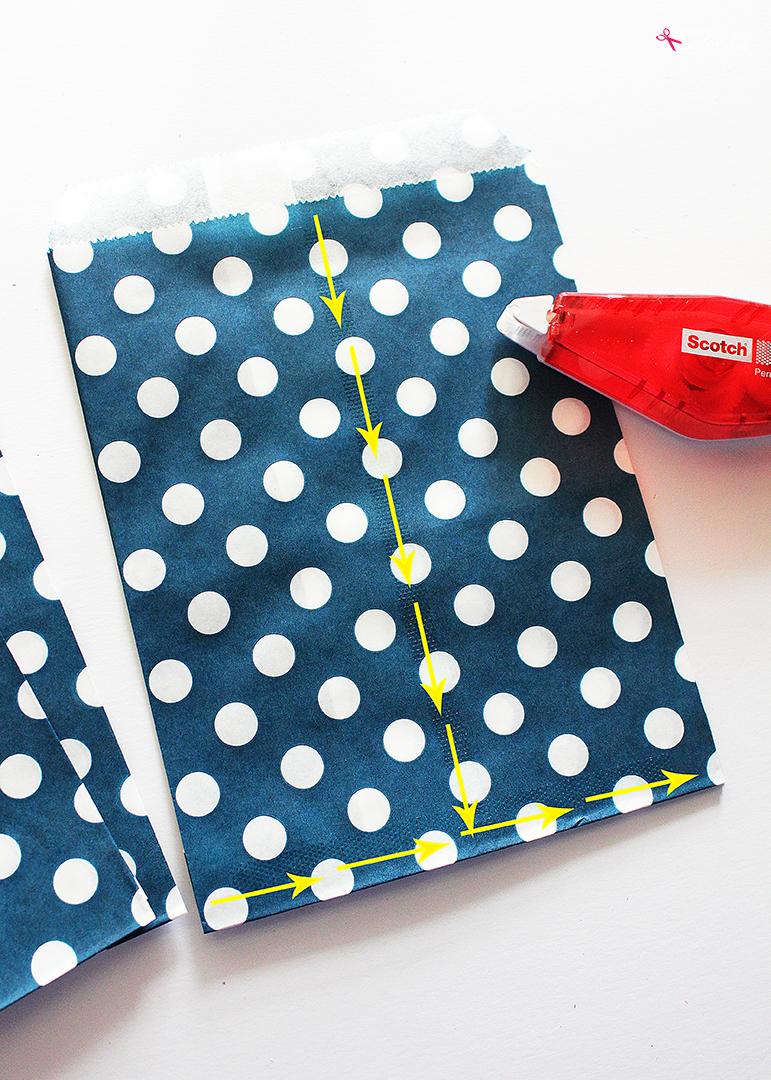DIY Paper Bag Stars - So easy and fun to make!