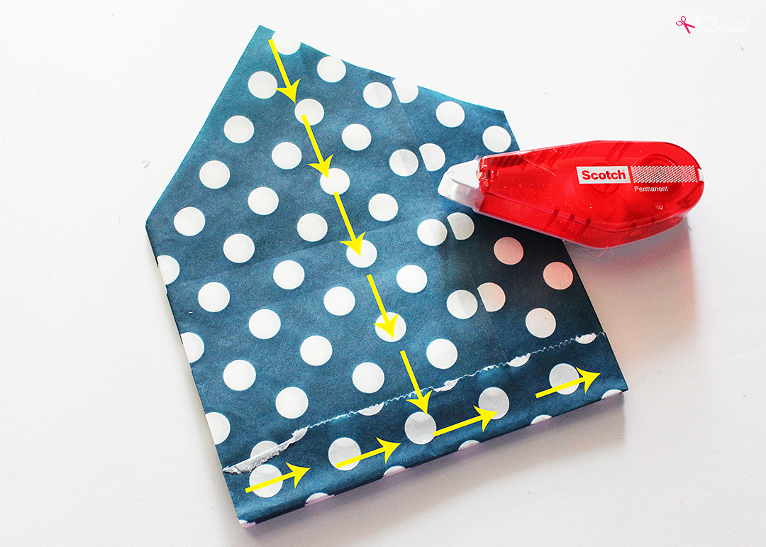 DIY Paper Bag Stars - So easy and fun to make!