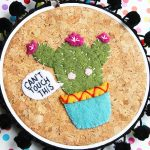 Cactus Embroidery Pattern + DMC Prize Pack GIVEAWAY!