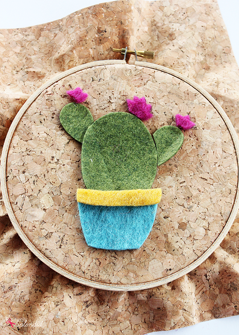 Free Cactus Embroidery Pattern - Easy and adorable!