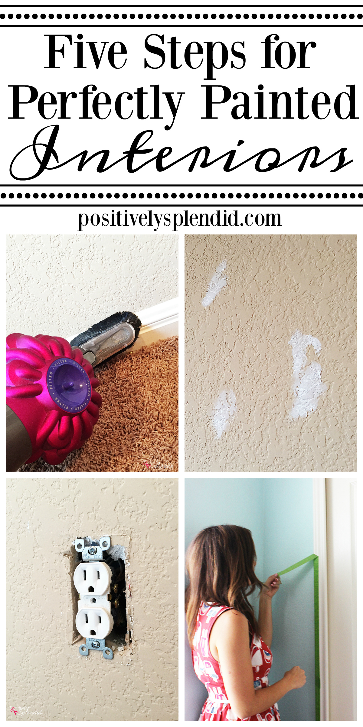 5 Tips for Perfectly Painted Interiors. Great information for DIYers!