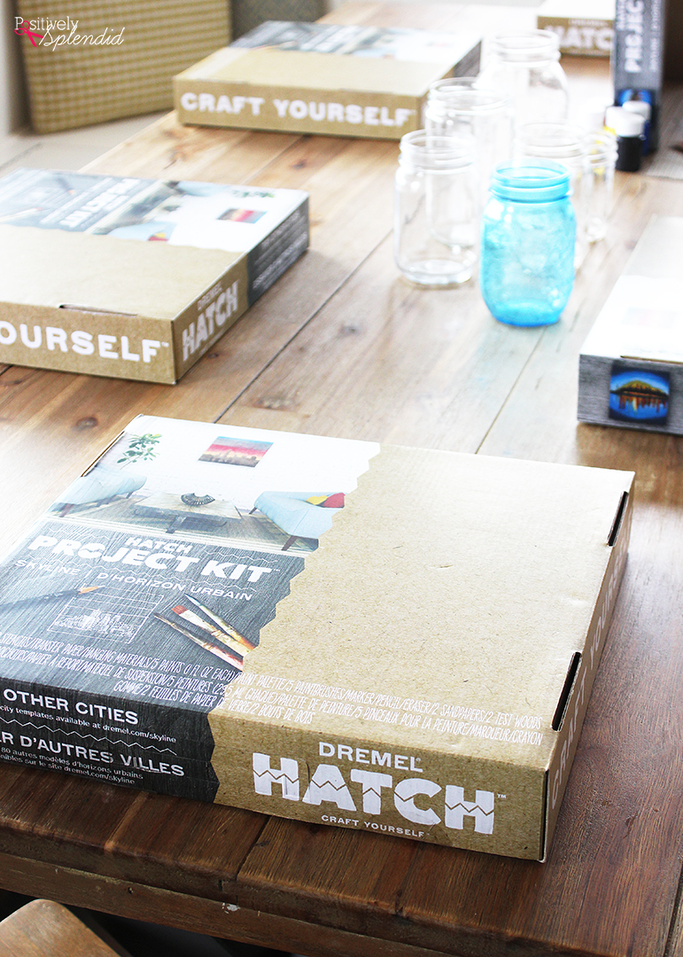 Family Craft Night with Dremel Hatch Kits