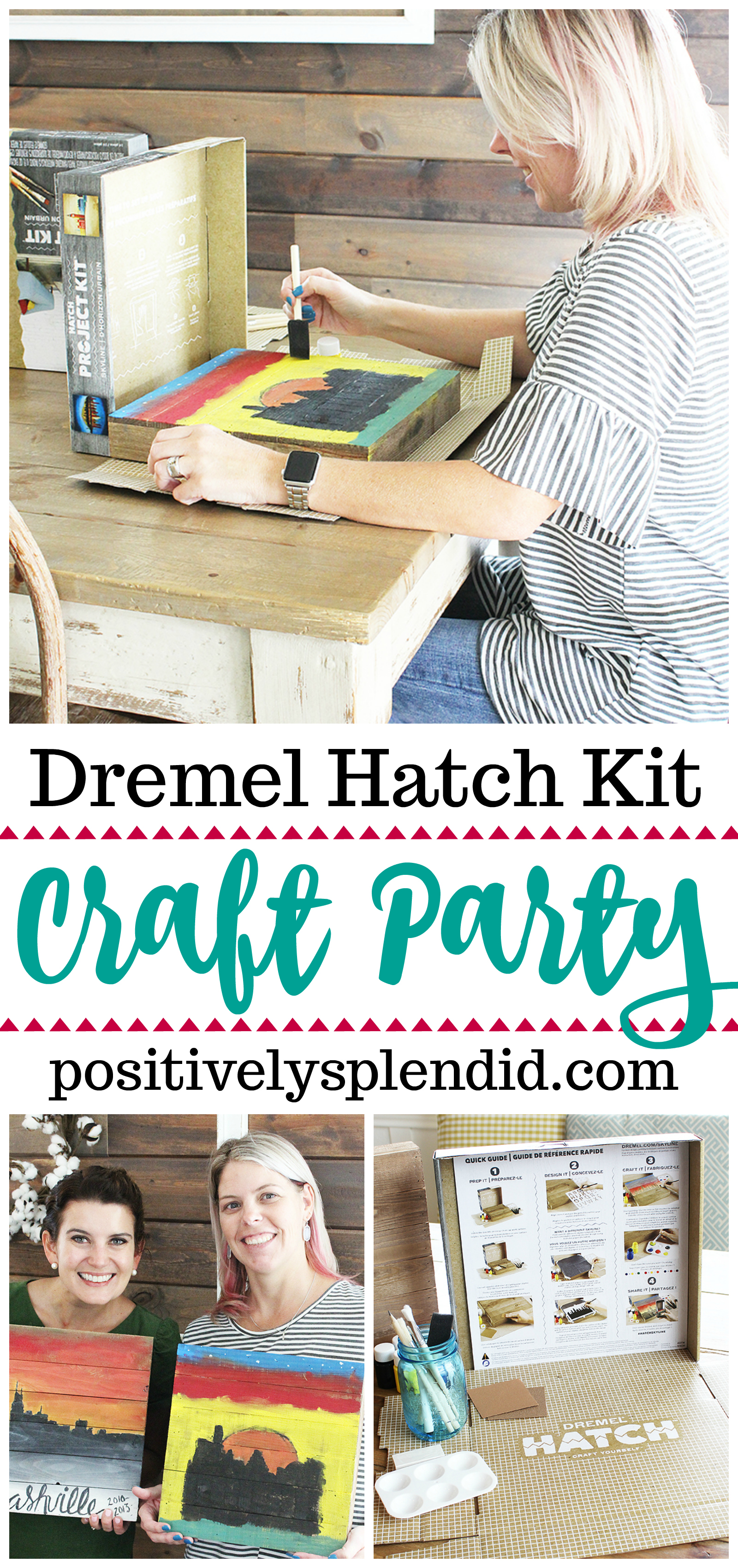 Host a Craft Party at Home with Dremel Hatch Kits