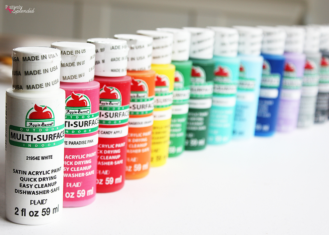 Apple Barrel Multi-Surface Paint Set - Perfect for so many projects!