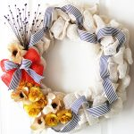 DIY Burlap Flower Wreath – Easy Fall Decor Idea!