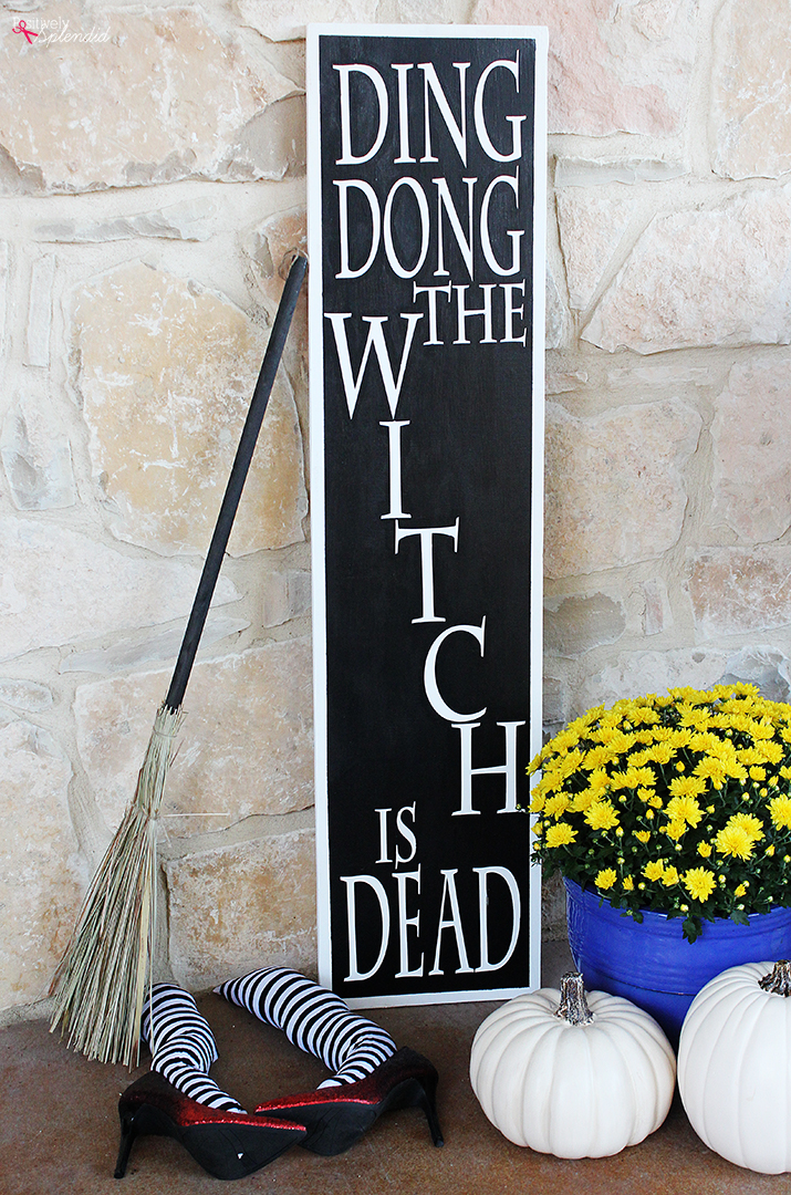 Wizard of Oz DIY Witch Legs Front Porch Decorations