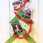 Christmas Tree DIY Christmas Card Holder