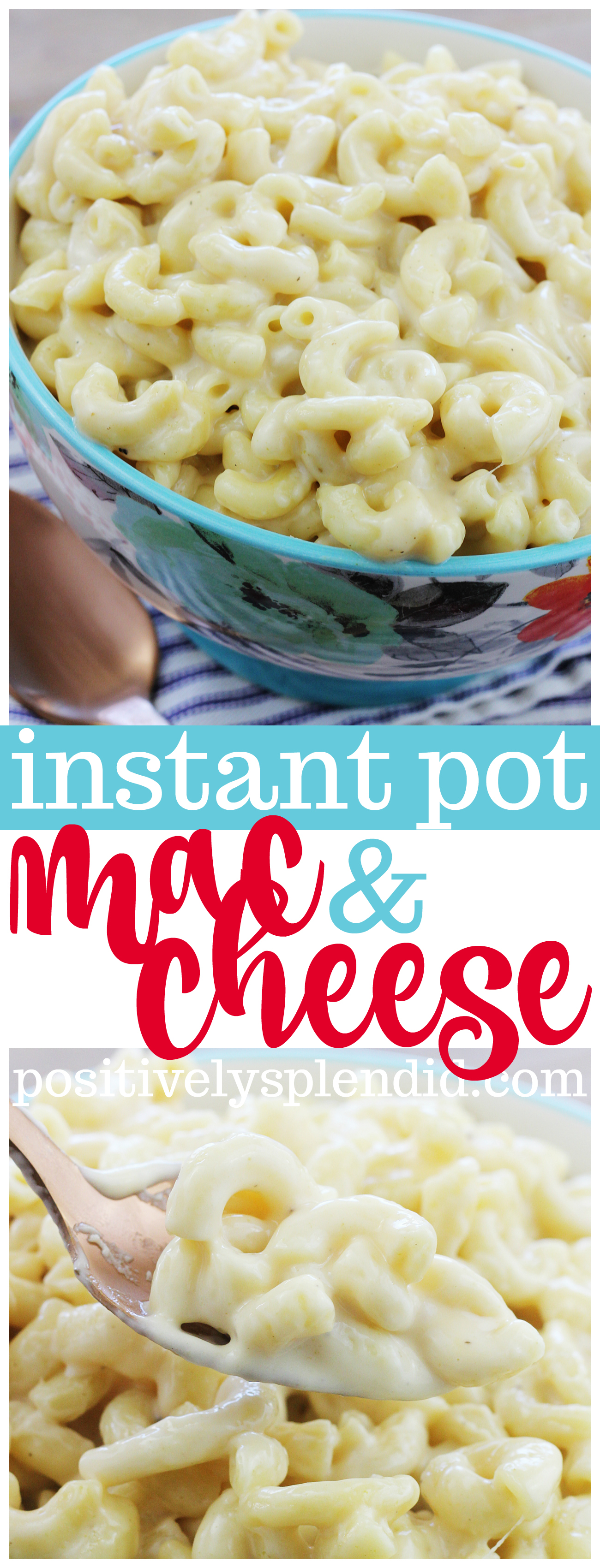 Instant Pot Mac and Cheese Recipe - No processed cheese required!