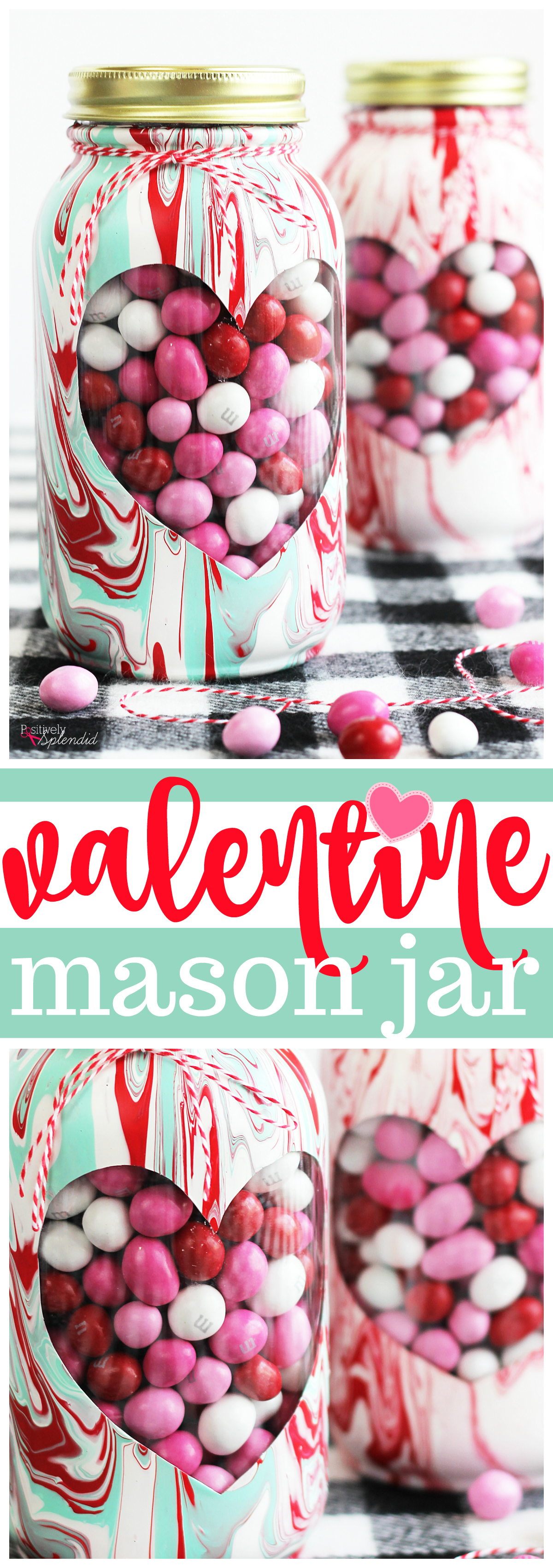 Valentine Mason Jar Craft Idea