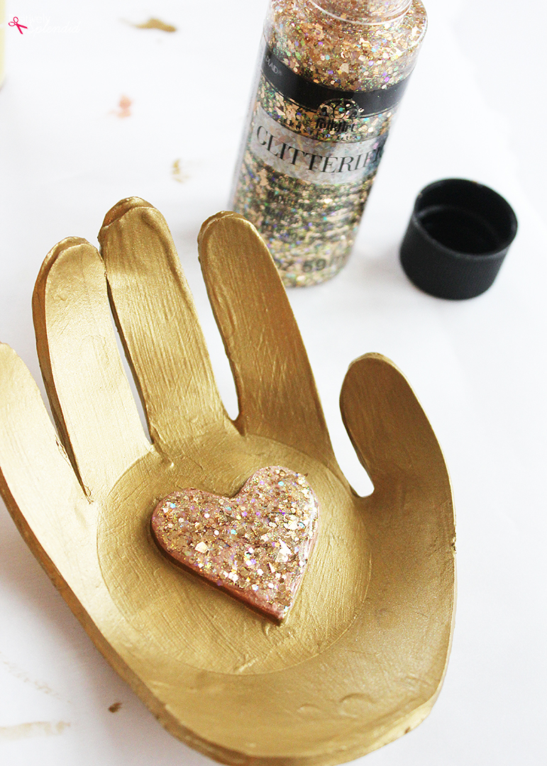 DIY Clay Hand Ring Dish