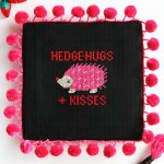 Hedgehog Cross Stitch – Free Pattern!