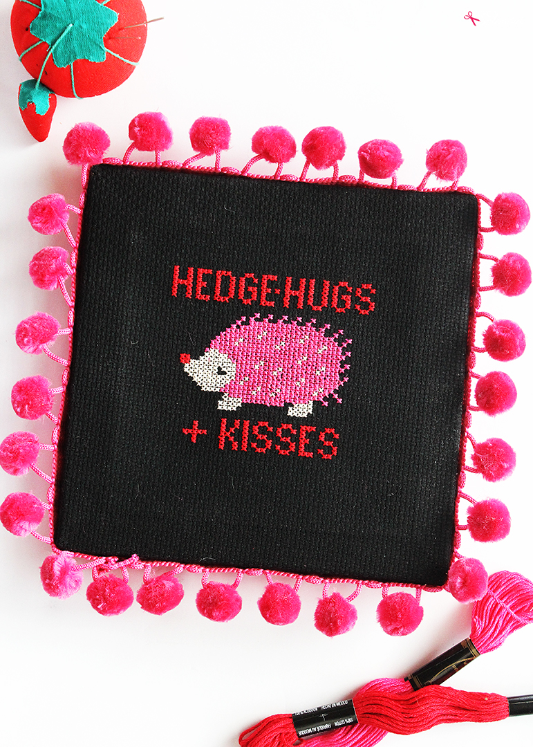 Free Hedgehog Cross Stitch Pattern