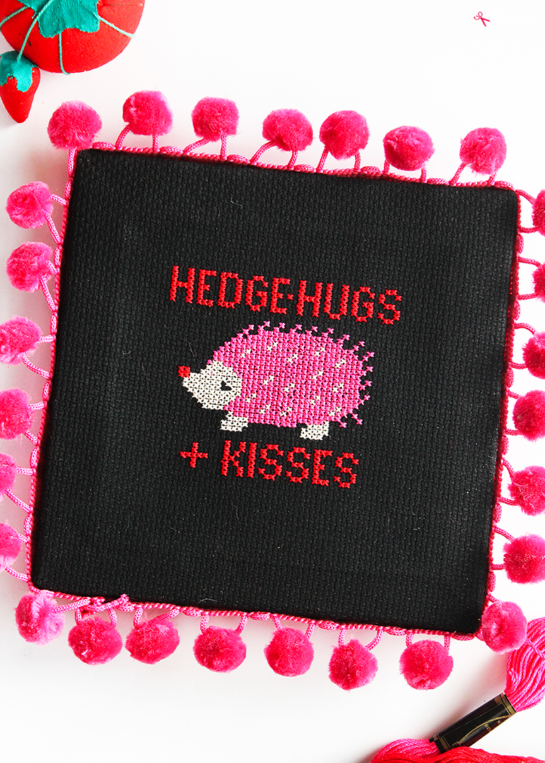 Hedgehog Cross Stitch Pattern - Free Download