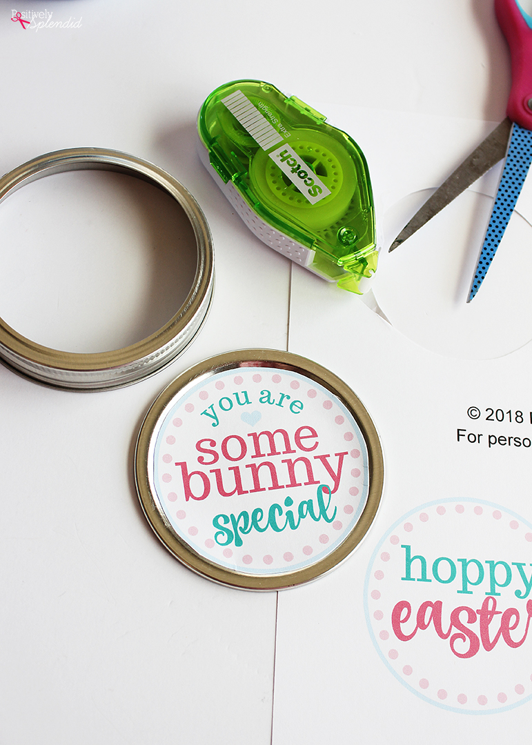 Easter Mason Jar Printables