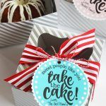Miniature Cake Teacher Appreciation Gift Idea