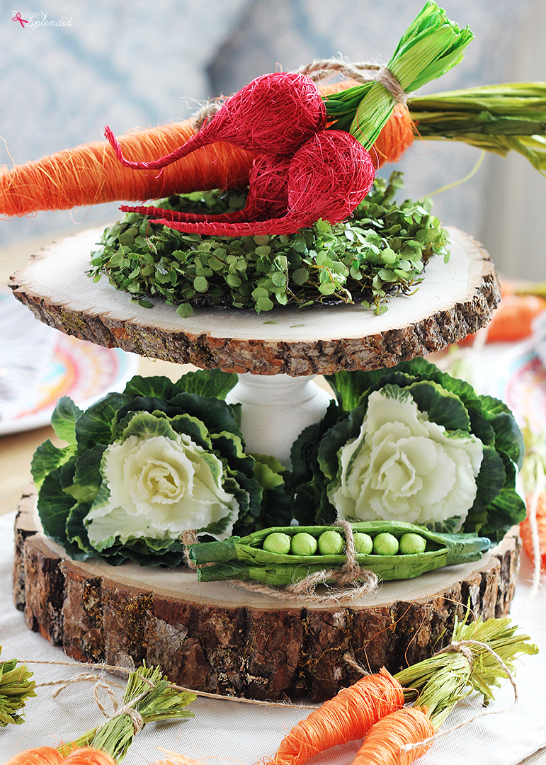 Rustic Spring Centerpiece Idea and Tips for Centerpieces without Flowers