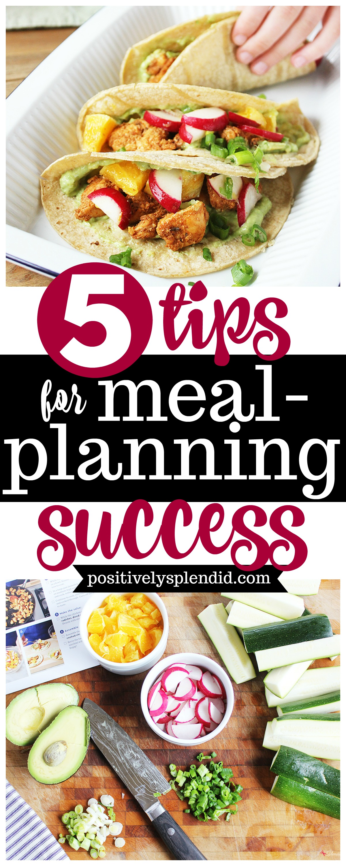 5 Best Meal Planning Tips