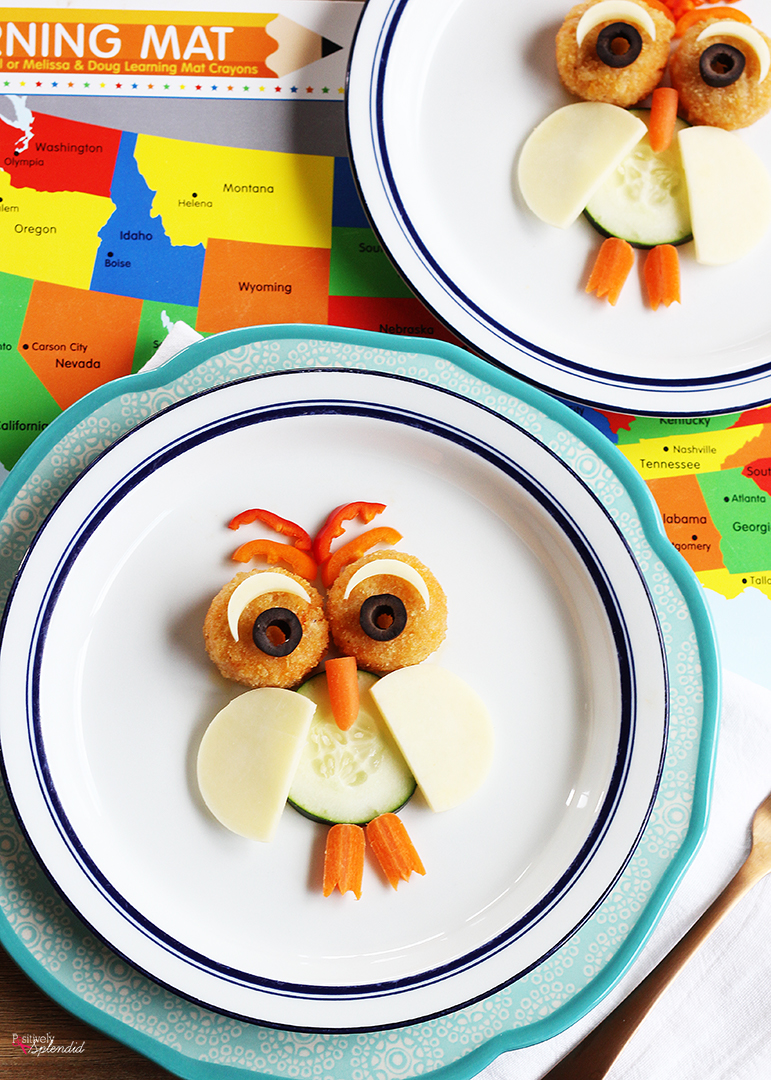 Fun Owl Snack for Kids
