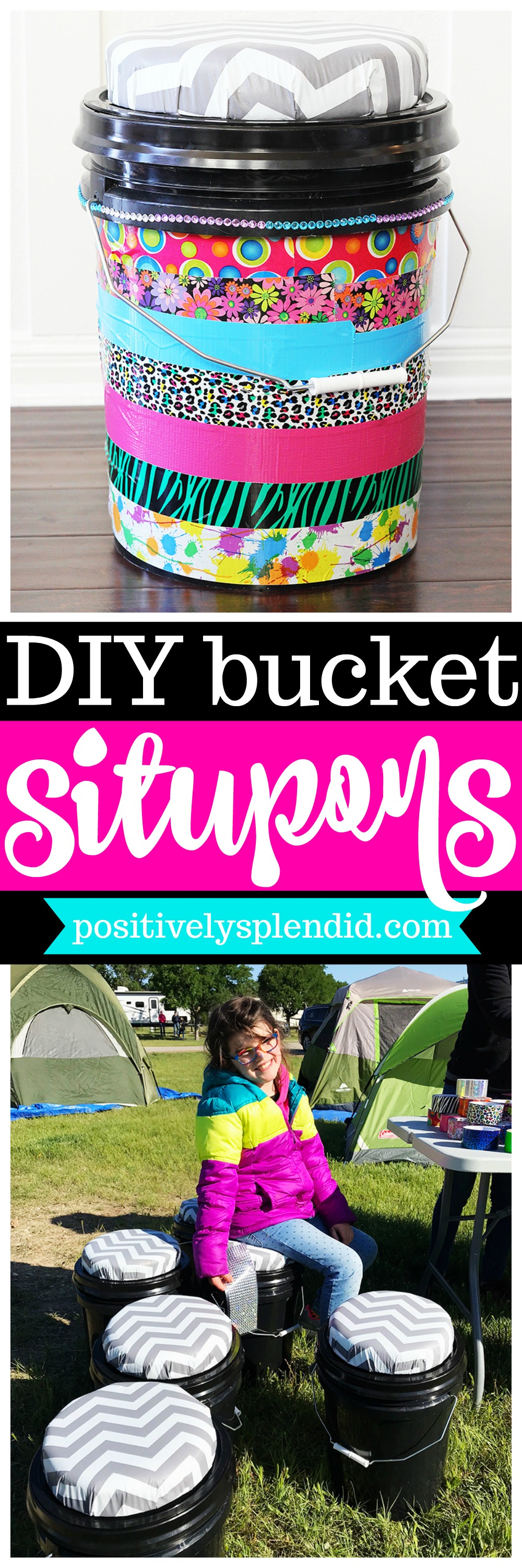 How to Make a Sit Upon Camping Bucket Seat