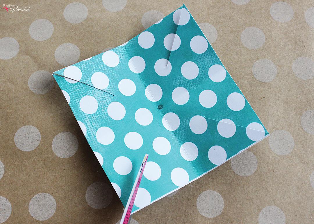 Making Paper Pinwheels