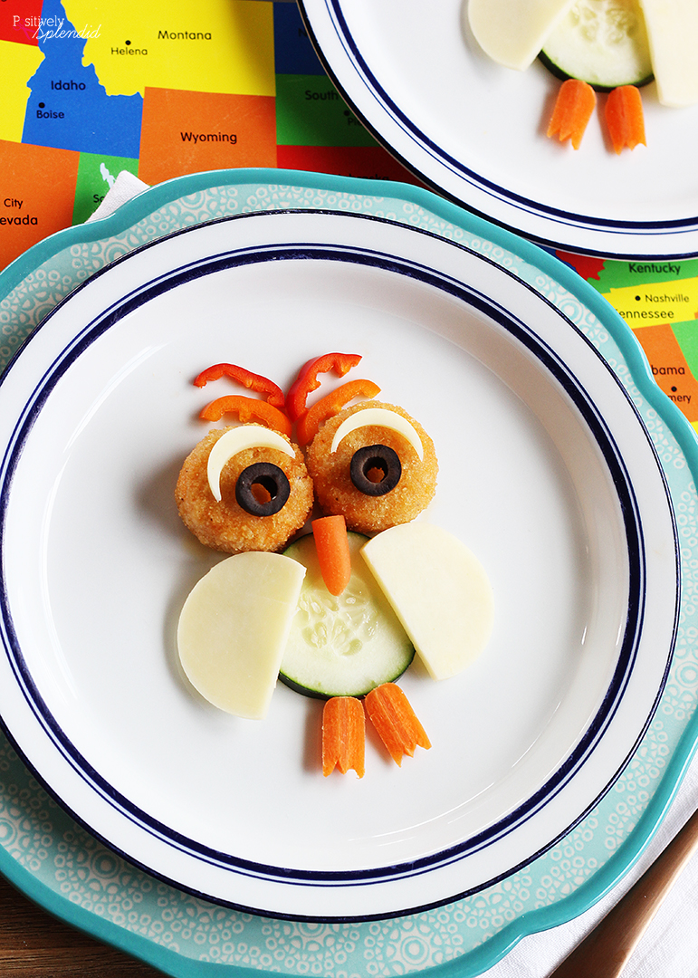 Owl Kids' Snack Idea