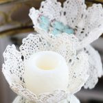 Lace Doily Bowl with Mod Podge