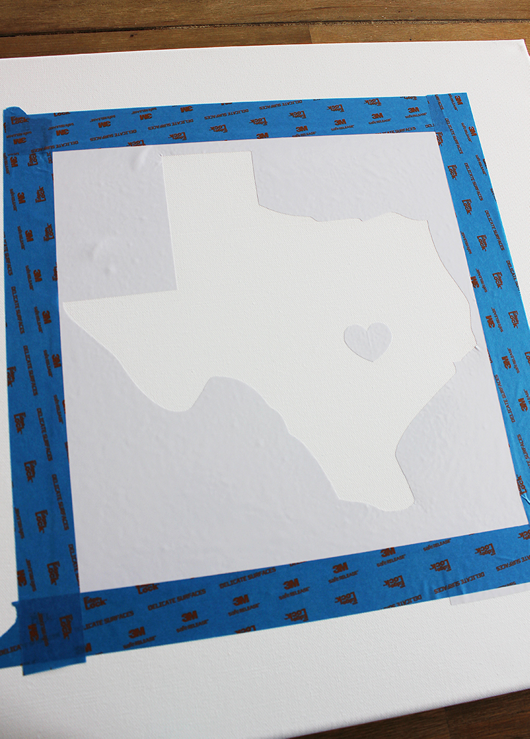 Texas State Thumbprint Craft