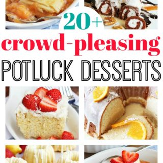 Crowd Pleasing Potluck Desserts for a Crowd