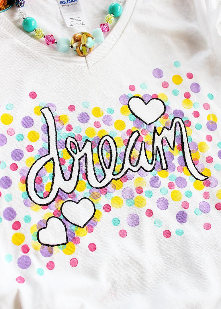DIY Painted T Shirt Idea