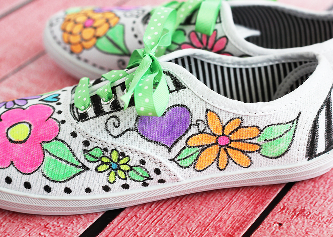 Fabric Marker Canvas Shoes