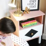 Kids' Reading Nook (IKEA Tarva Nightstand Makeover)