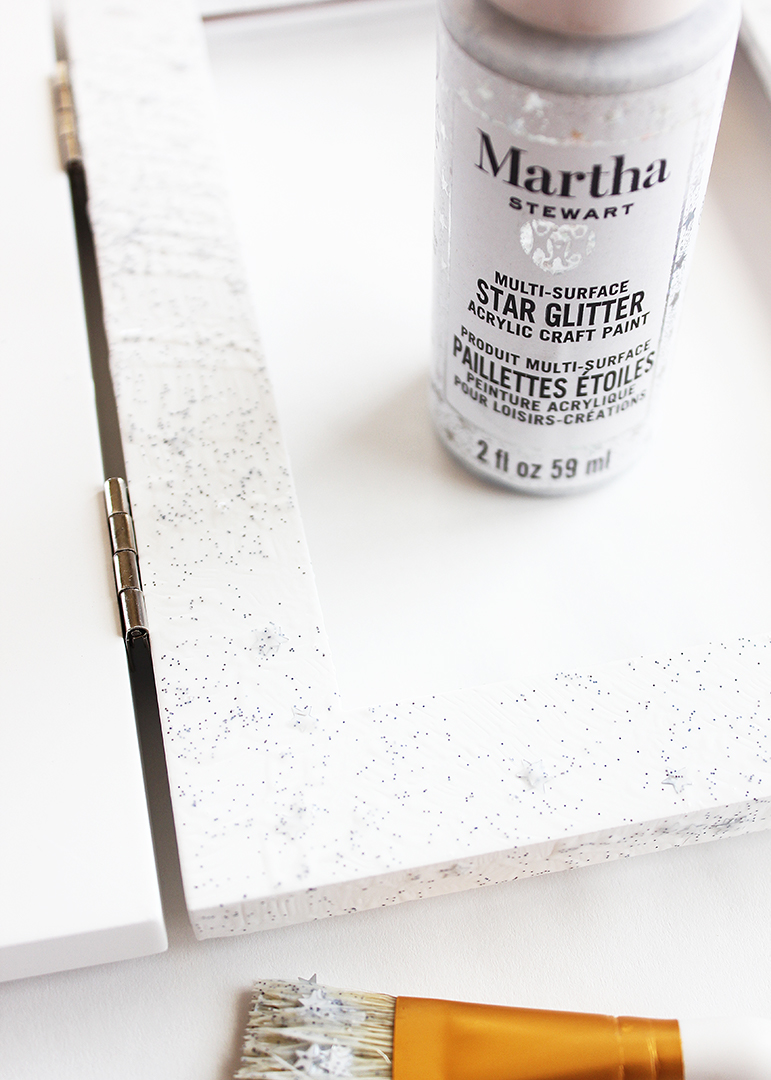 Martha Stewart Star Glitter Paint