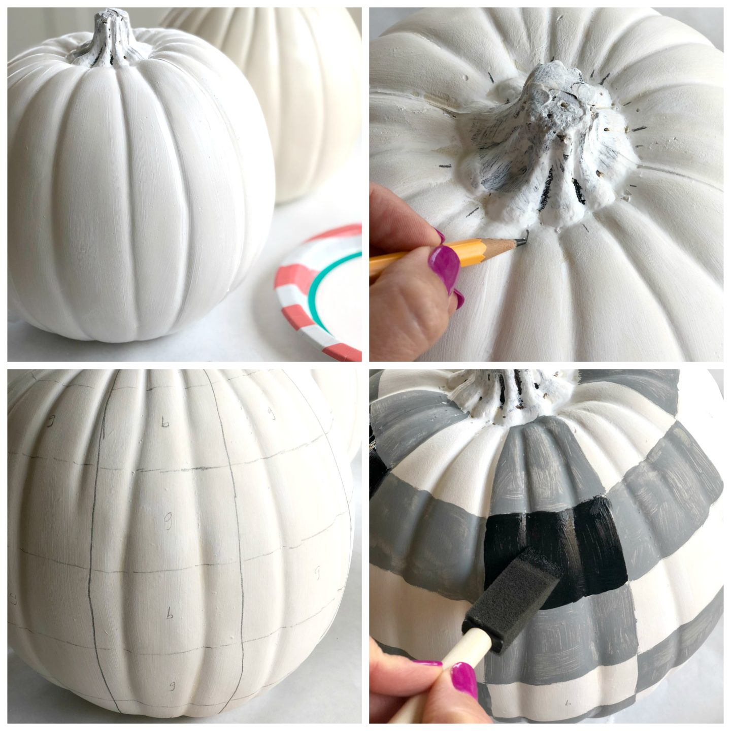 Buffalo Check Pumpkin Tutorial