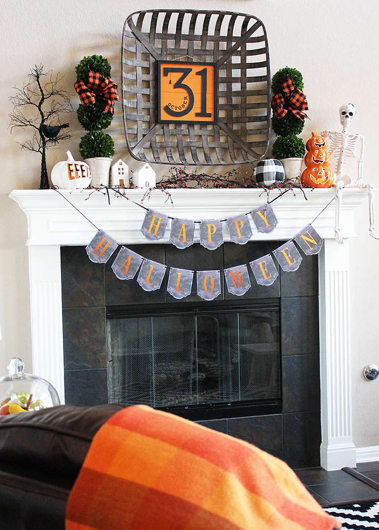 Halloween Mantel Ideas