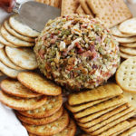 Cheese Ball with Green Chile and Bacon