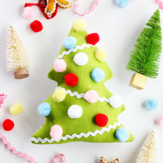 Fabric Christmas Tree Softie Sewing Pattern