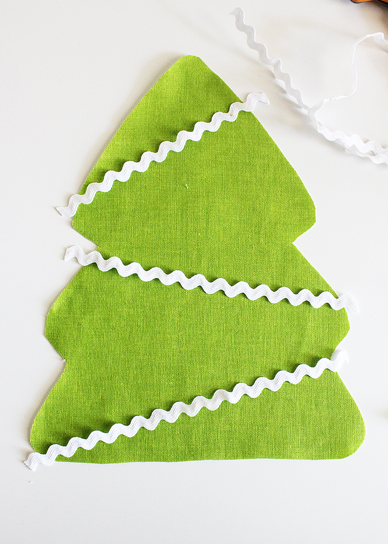 Farbic Christmas Tree Sewing Pattern