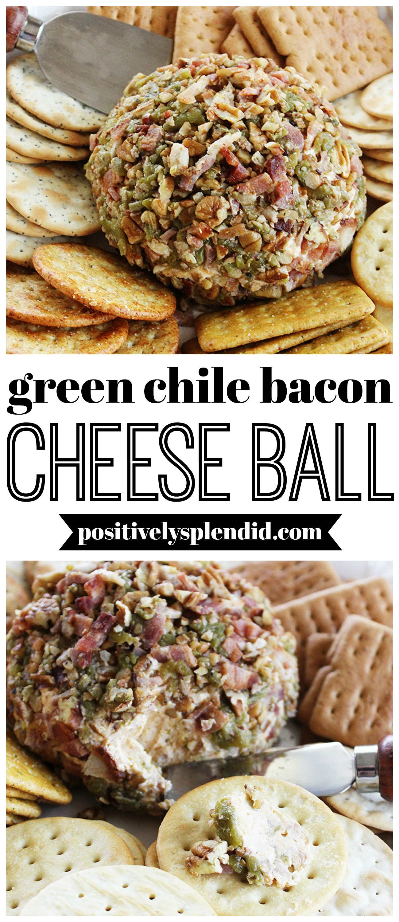 Green Chile and Bacon Cheese Ball Recipe