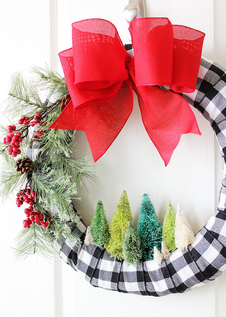 Miniature Christmas Tree Wreath